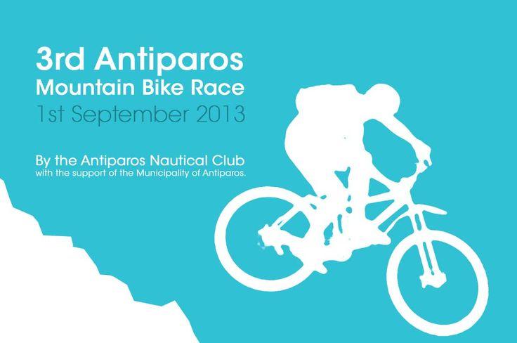 Mountain Bike Race in Antiparos, Cyclades, Greece