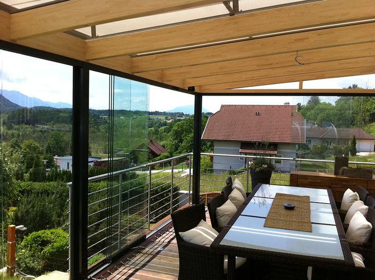 With only 6 more weeks of Winter, it's time to start thinking about patio renovations to enjoy Spring's fresh air! #patio #remodeling #outdoors #foldingdoors #sunflexwallsystems