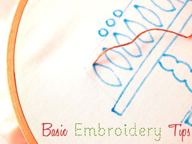 Basic_Embroidery Tips