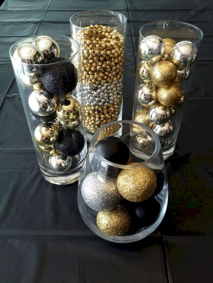 Great Gatsby Theme Party Ideas 21 in 2020 Gold christmas