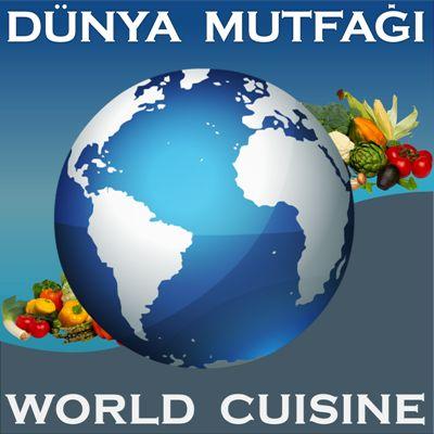 Antartika Mutfağı / Antartic Cuisine - Asya Mutfağı / Asia Cuisine - Afrika Mutfağı / Africa Cuisine - Avrupa Mutfağı / Europen Cuisine - Kuzey Amerika Mutfağı / North American- Cuisine - Güney Amerika Mutfağı / South American Cuisine - Okyanusya Mutfağı - Oceanian Cuisine