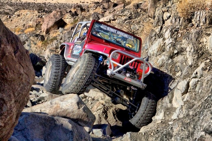 GenRight Off Road's red Yj 'Growler'  http://www.genright.com/The-Growler.aspx