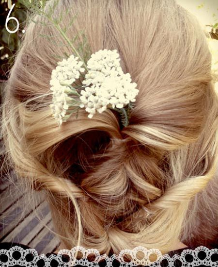 Cute DIY Wedding Hair Tutorial - Nadyana Magazine
