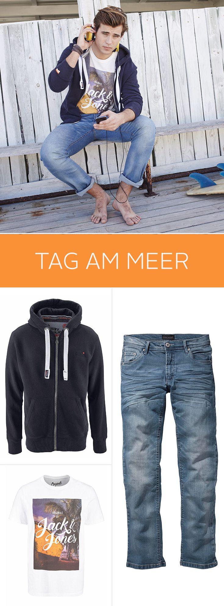 An den Stränden von Sylt, Amrum und St.Peter-Ording brauchst du nicht mehr als ein Shirt, Jeans und eine Sweatjacke für deinen perfekten Tag am Meer! Da kann das Wetter auch ruhig mal wechselhaft sein – du bist immer voll im Trend!