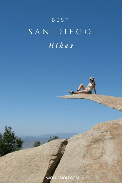 The best San Diego hikes wind their way along coastlines, up gorgeous mountains, occasionally through snow and to one of the county's tallest waterfalls. via @La Jolla Mom | Luxury Travel & Lifestyle