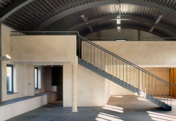 Dutch Barn Internal Conversion In 2019 Arched Cabin