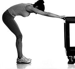 7 étirements en 7 minutes pour soulager votre douleur au bas du dos  7. Étirement de tout le dos.  Maintenez 30 secondes et ensuite essayez cette position: