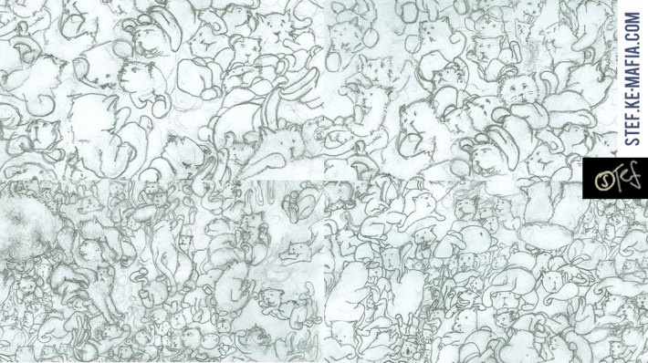 Of The Cats, Chaos And Infinity by Matuus Steff Gaal, via Behance