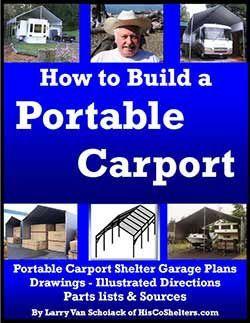 How to Build a Portable Carport