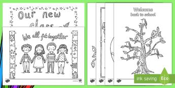 Back To School Mindfulness Colouring Pages - End of Year/Back to School Australia, back to school, mindfulness colouring sheets, colouring sheets