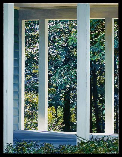 Alice Dalton Brown, Sheltered Spot, 1982, Oil on Canvas