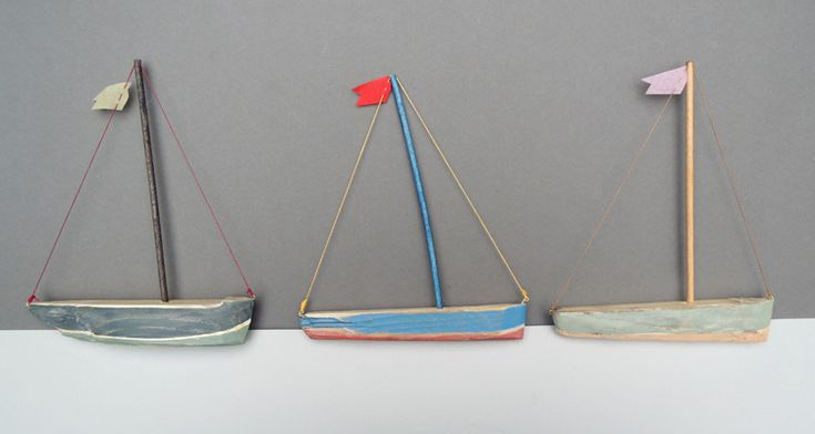 NOT-ANOTHER-BILL x Victor Stuart Graham, hand-carved boats made from the sea's driftwood offerings.