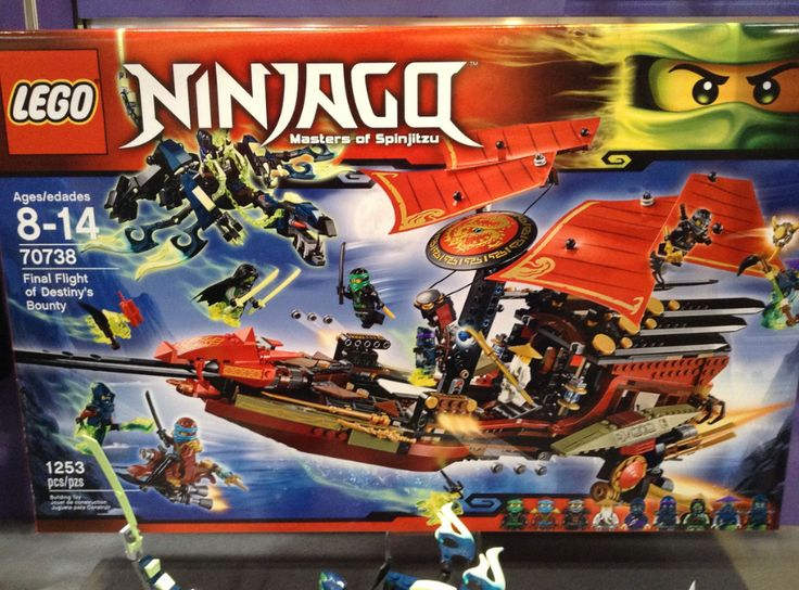 ninjago+summer+2015+destinys+bounty | final flight of destiny s bounty 70738 1253 pieces august