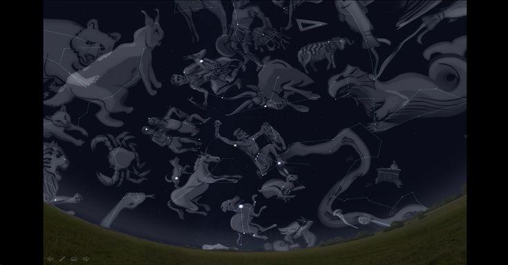 Lendas no Céu - Constelações  Material Premiado em 2011 - Menção Honrosa.