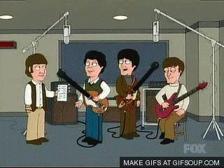 Family Guy Ringo writes a song