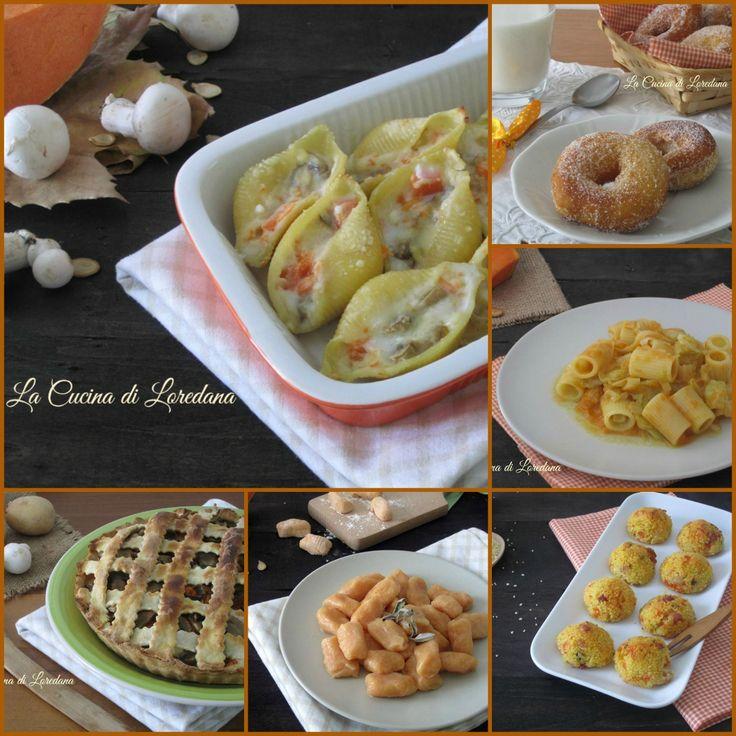 Ricette con la Zucca   La Cucina di Loredana