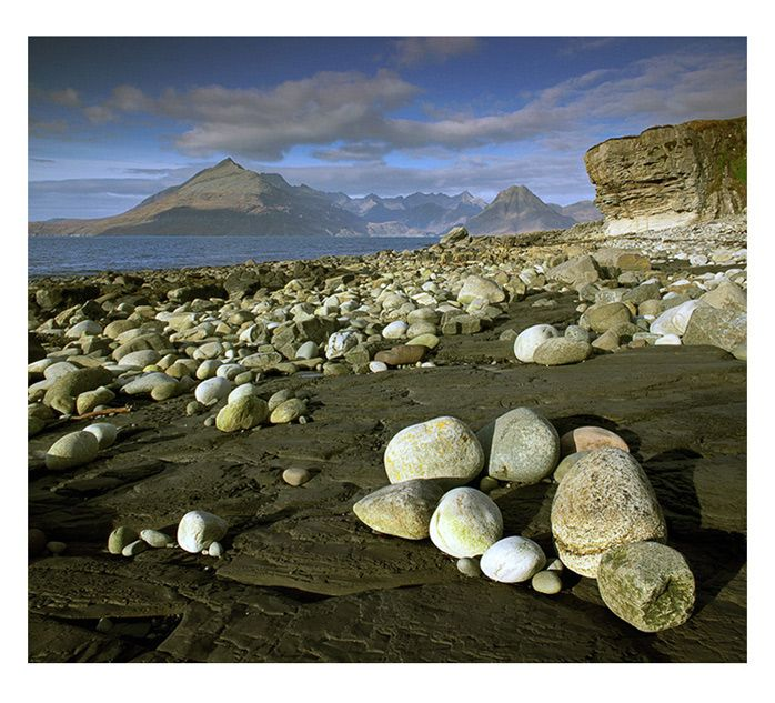 The Cuillins from Elgol Beach