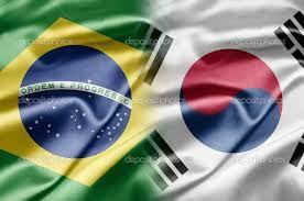 Resultado de imagem para Bandeira da coreia do Sul