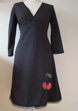 PINKA dress Very Cherry