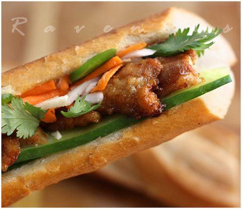 Banh Mi Sandwich on Pinterest | Banh mi sandwich, Vietnamese sandwich ...