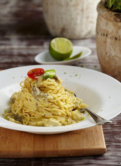 Spaghetti a la