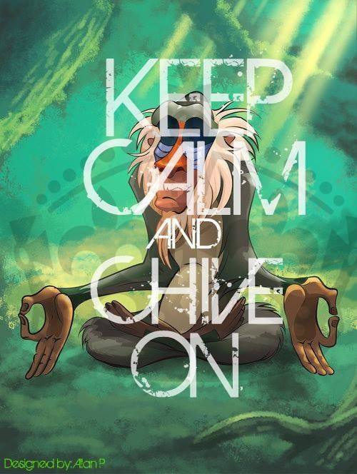 Keep Calm & Chive On Lion King style!