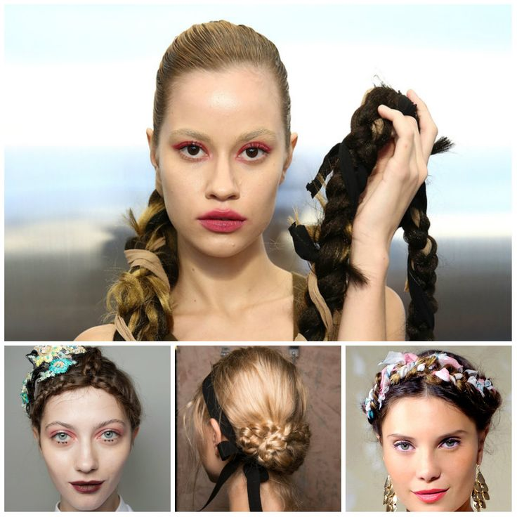 Freshest Braided Hairstyle Ideas from Runways