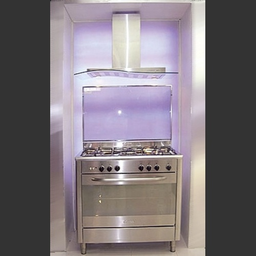 "Wall Range Hood 36"" Mystic Glass"