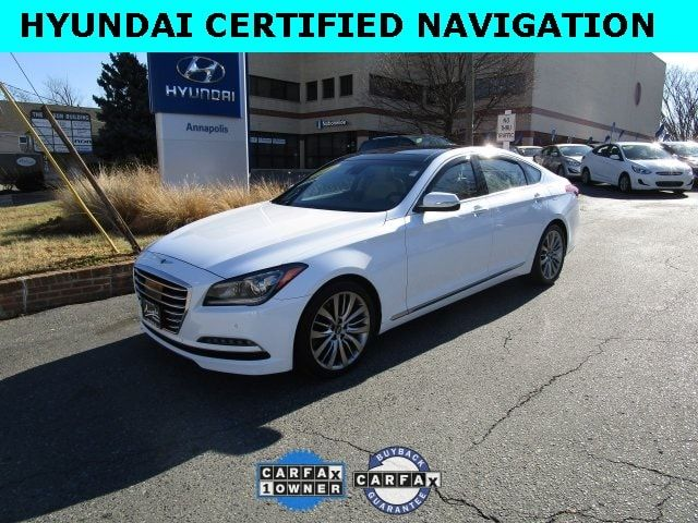 Certified Used 2015 Hyundai Genesis 5 0 Hyundai Certified Navigation For Sale In Annapolis Md Kmhgn4jf1fu056472 2015 Hyundai Genesis Hyundai Genesis Hyundai