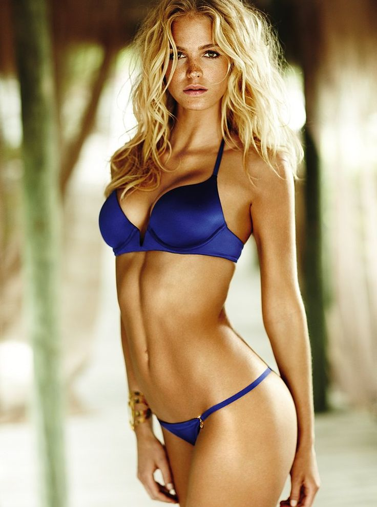 Blonde Model Russian Blue Eyes Katarina Pudar: Beautiful Blonde Victoria's Secret Model Erin Heatherton