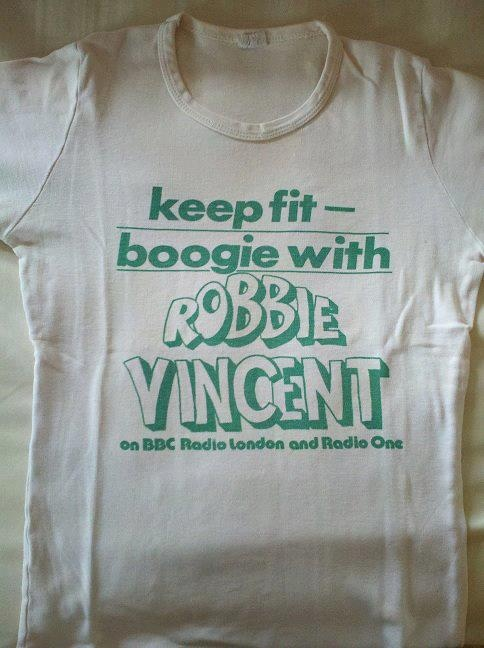 Robbie Vincent T-Shirt Robbie, we need you back on air, missing the music garden