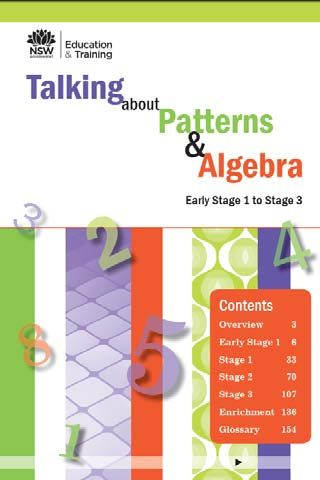 Talking about Patterns and Algebra eBook