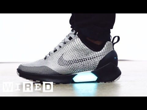 Auto-Lacing Sneakers Are Here!