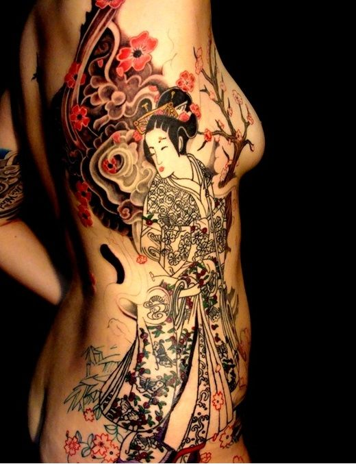 Japanese Geisha Tattoo Ideas | Best Tattoo 2015, designs and ideas for men and women