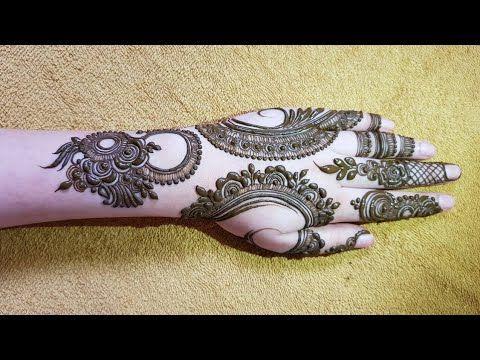 Gulf henna design #1   henna design for eid 2017 - YouTube