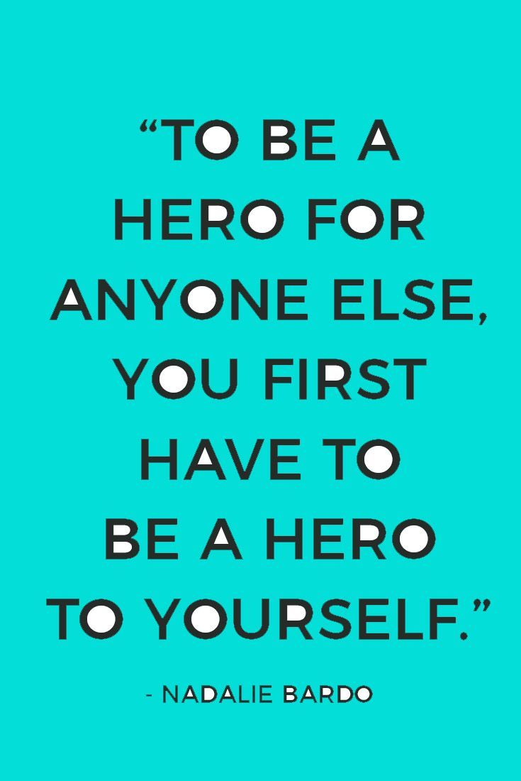 To believe in yourself is to rescue yourself. Be the hero of your own story. Own your story, own your power. Own who you are. The hero's journey, like most, always starts with you.  Get your FREE Superpower Discover Guide with 20 ways to discover your superpower (passion + talent + action).