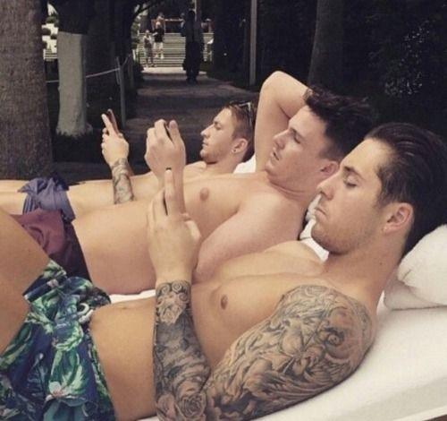 #Marco Reus  #Marcel Robin  on holiday in Crete.