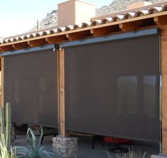 SunTex by Phifer Retractable Porch Shade Screen