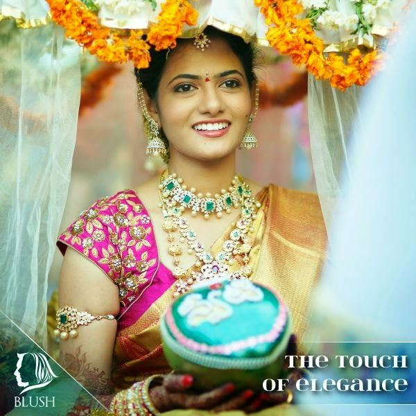 Jewellery Designs: Gorgeous Bride in Her Wedding Jewelry