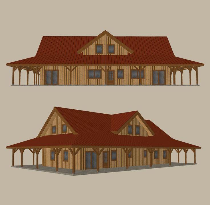 Best 25+ Pole Barn Designs Ideas On Pinterest
