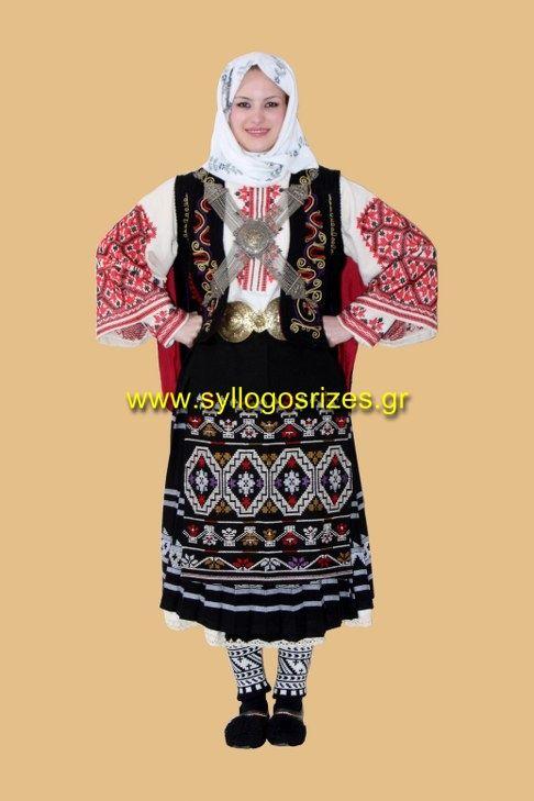 Παραδοσιακές Φορεσιές - Χειροποίητα Υφαντά σε Αργαλειό - Παραδοσιακά κεντήµατα και πλεκτά - Λαογραφικός Σύλλογος Ρίζες