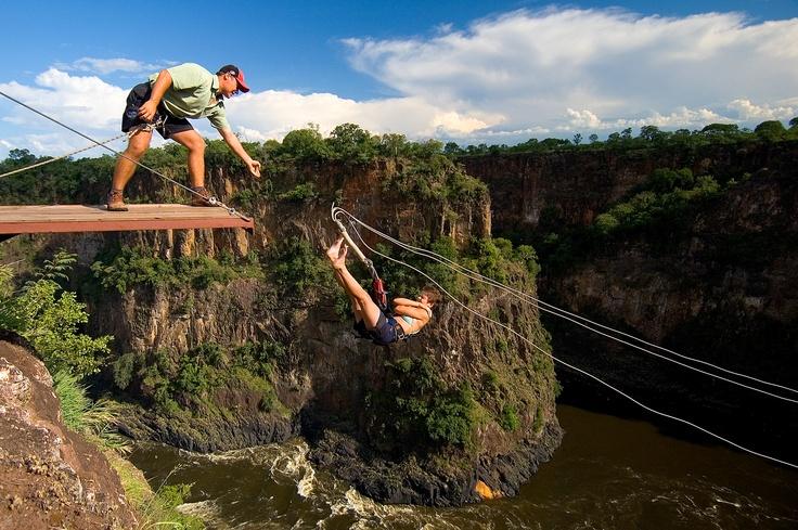 The Gorge Swing - Batoka Gorge, Victoria Falls, Zimbabwe