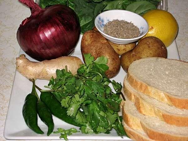 Вегетарианские кебабы   фото