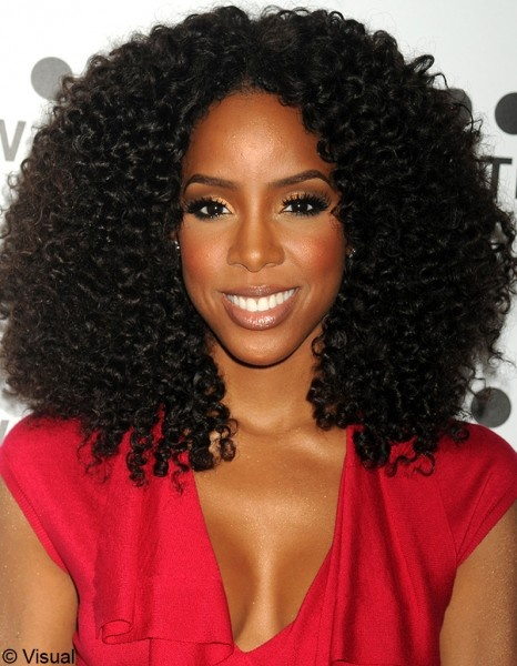 On veut toutes le beauty look de : Kelly Rowland