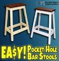 Pocket Hole Bar Stool PDF