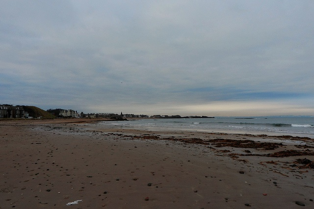Looking toward North Berwick from the beach