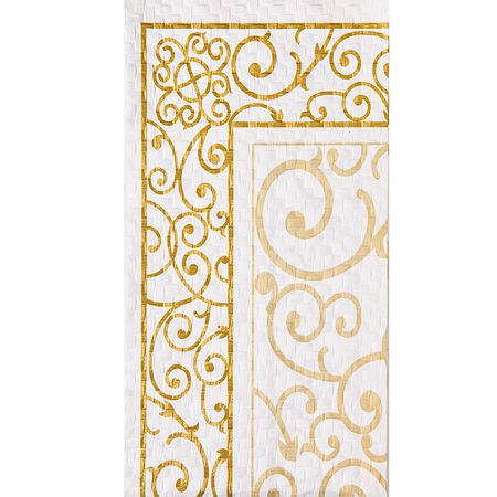 Venetian Ivory Gold Napkins or Guest Towels  50th wedding anniversary ideas golden hearts