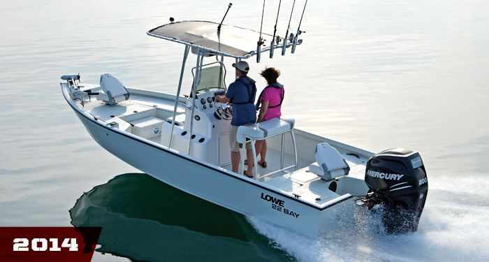 Lowe Boats 22 Bay Boat: Aluminum Center Console Boats, Fishing ...