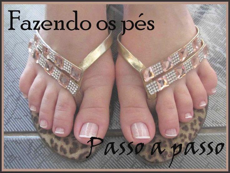 Dúvidas de Manicure #4 - Fazendo os pés passo a passo