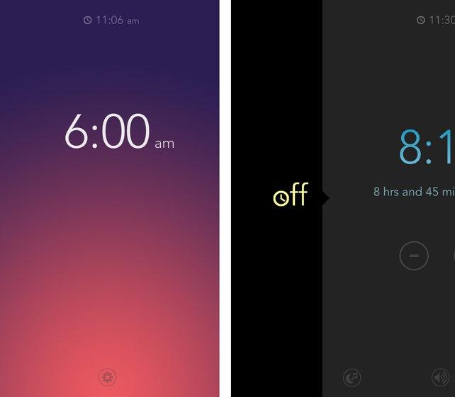 Rise, An Alarm Clock App With A Slick Gestural UI